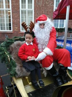 Reception Santa