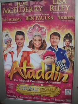 Pantomime - Aladdin