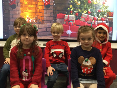 Reception's 'Christmas Jumper' Day