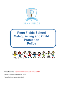 PFS Child Protection and Safeguarding Po