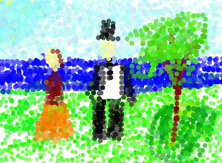 Inspired by Georges Seurat