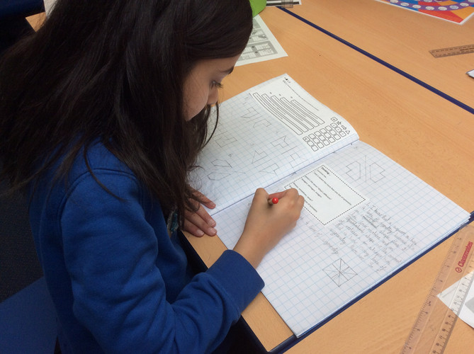 Year 4 - Exploring Lines of Symmetry (3)