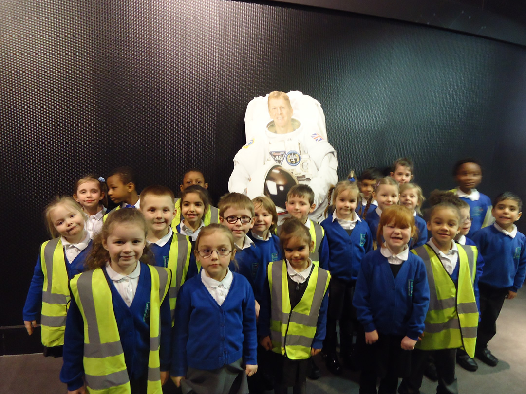 Year 1 Trip to Space Centre