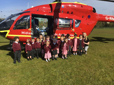 A Visit from the Air Ambulance