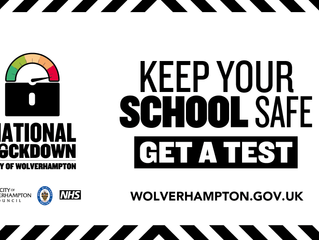 Keep our schools safe by getting a regular Covid-19 test