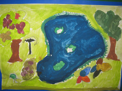 Year 2 Our school Pond by Kainaat