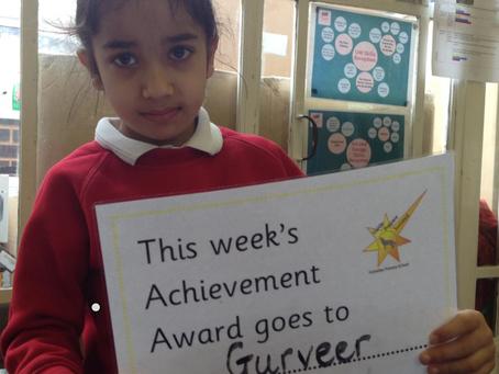 Receptions' Achievement Award Winner