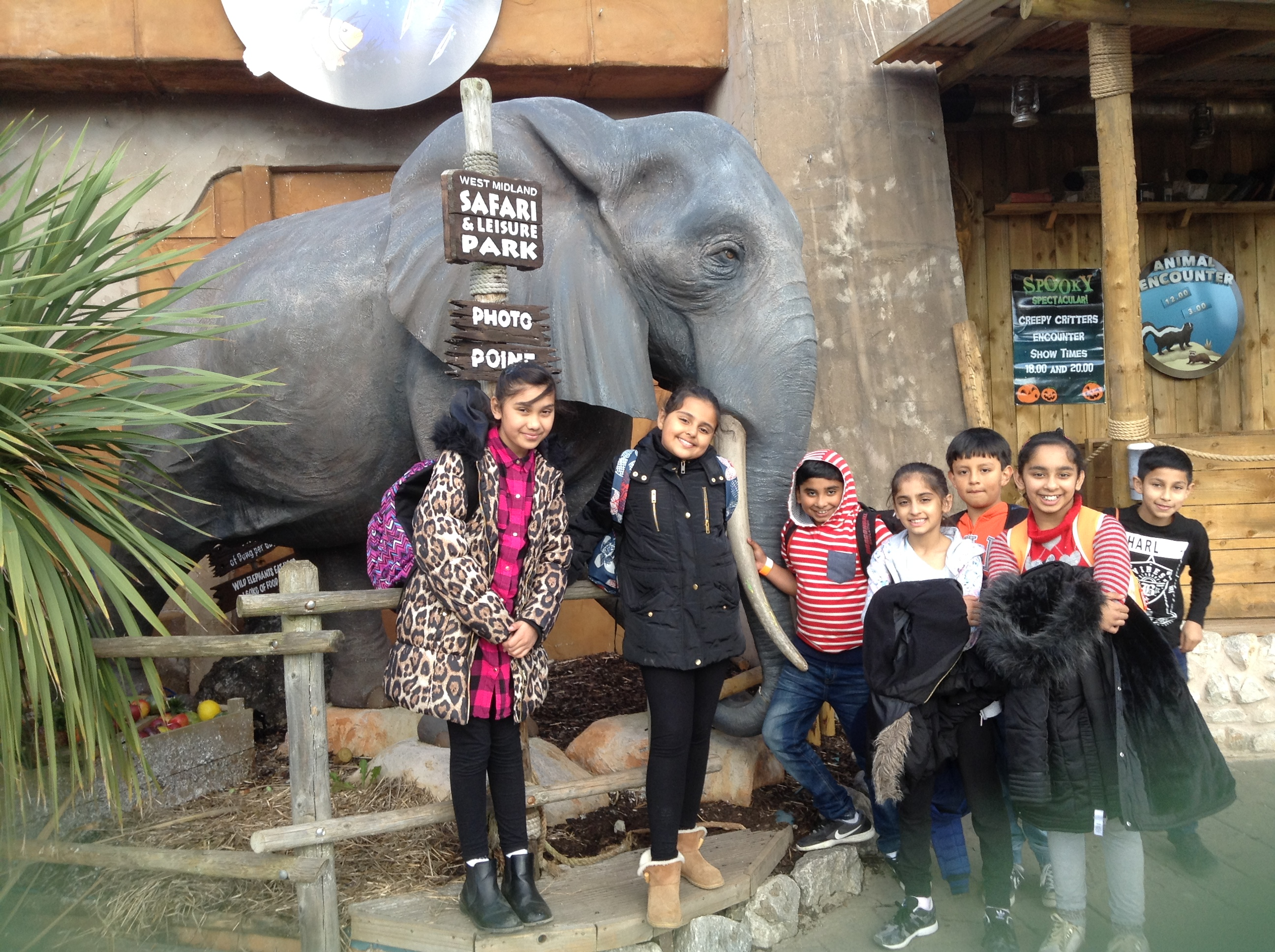 Attendance Winners - Safari Park