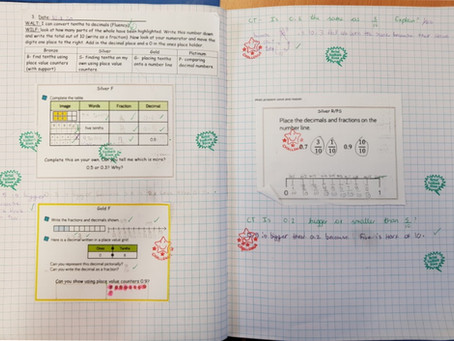 Year 4's awesome maths week