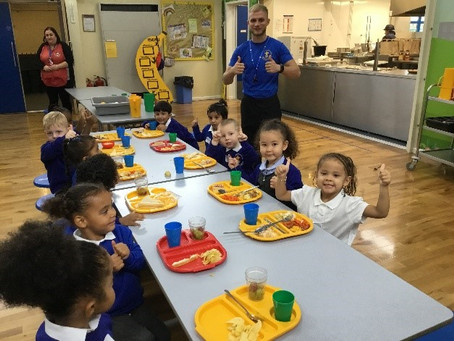 Children and Parents 'happy to return' to Bilston CE Primary!
