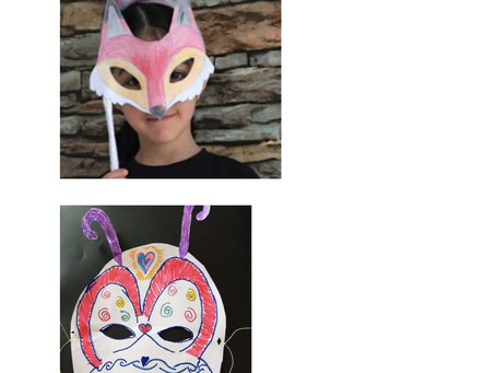 Online DT - Animal Masks