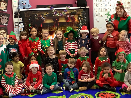Reception's Elf Day!