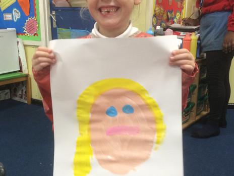 Foundation Stage - Self Portraits