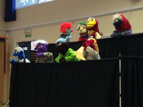 Whole School - Penn Puppets