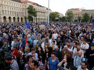 In solidarity with Civil Society in Hungary