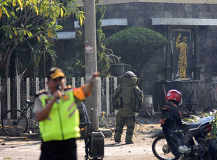 Ten Injured in Explosion at Surabaya's Police Headquarters, Indonesian Officials Say