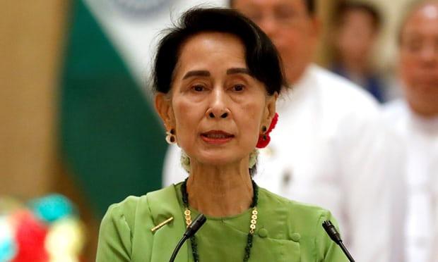 Aung San Suu Kyi: no 'substantive' talks. Photograph: Soe Zeya Tun/Reuters