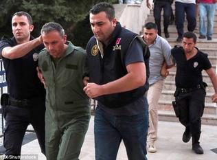 Turkey detains 150 soldiers over alleged Gulen links: Anadolu agency