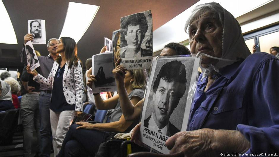 The families of victims of Argentina's dictatorship have campaigned strongly for perpetrators to face justice