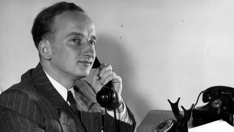 Ben Ferencz, 1946.