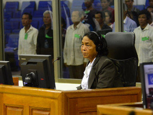 Cambodian Woman married off by the Khmer Rouge testifies on abuse