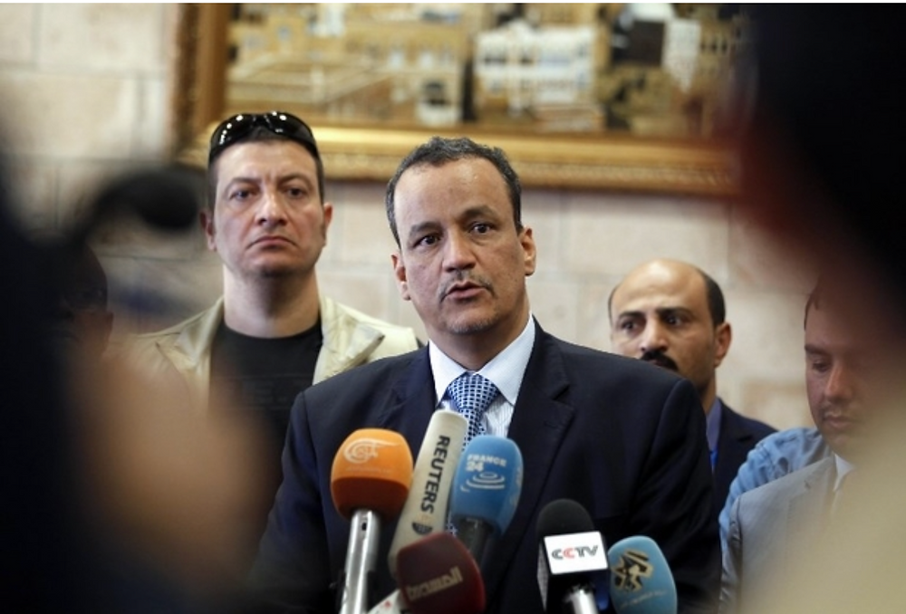 Ould Cheikh Ahmed painted a portrait of a country breaking apart (AFP)