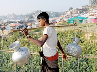 Water and sanitation crisis unfolds in Rohingya camps