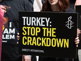 AMNESTY INTERNATIONAL: UK must keep human rights in Turkey a priority ahead of presidential visit