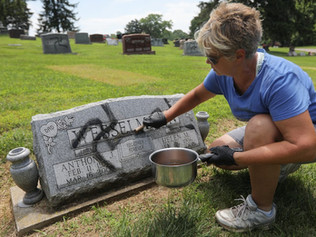 Arrest Made After More Than 200 Swastikas Appear on Cemetery Headstones