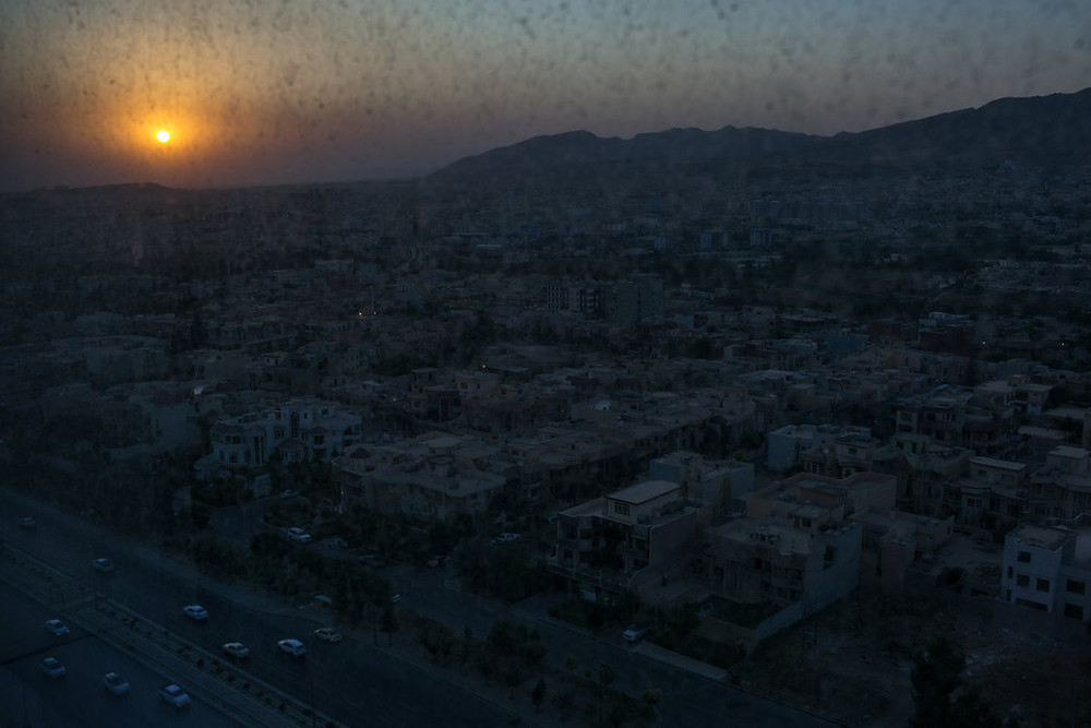 Image: Sunset over Dohuk, in the Kurdistan region of northern Iraq. Islamic State militants have conquered large areas of Iraq, and the systematic rape of women and girls from the Yazidi religious minority has become deeply enmeshed in the group's organization and theology. Credit Mauricio Lima for The New York Times