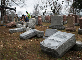 At Jewish Cemetery, Seeking Answers Amid Heartbreak