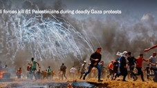 Gaza buries its dead as death toll from protests at fence with Israel rises to at least 60
