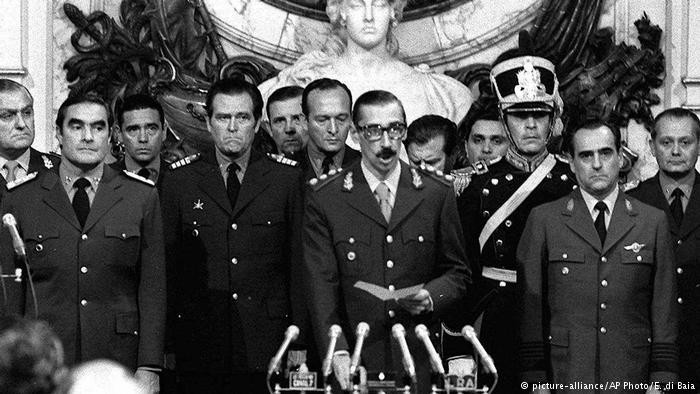 Thousands disappeared or were killed under the dictatorship of Jorge Rafael Videla and his military colleagues