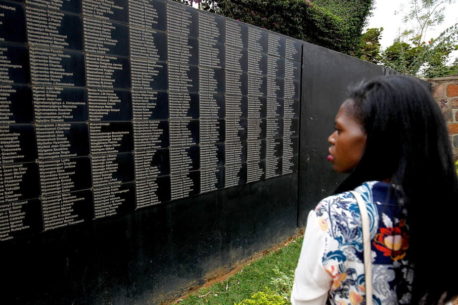 A memorial to the victims of the 1994 Rwanda genocide in Kigali. EPA/Ahmed Jallanzo