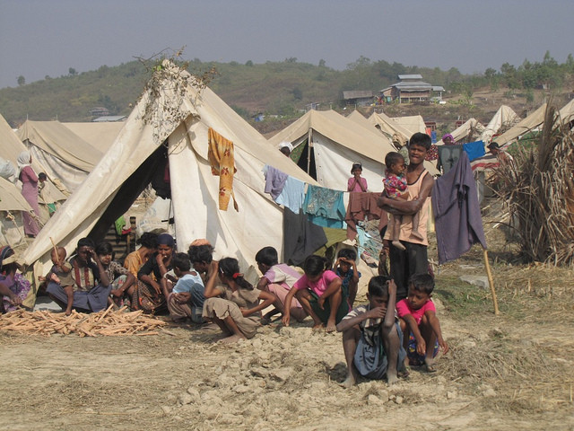 A Genocide Continues in Myanmar. Image Credit: European Commission / Flickr