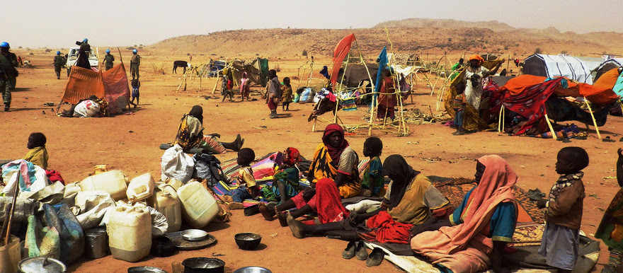Life in Darfur without camp humanitarian resources--the fate of many now, soon perhaps hundreds of thousands of people forced from dismantled IDP camps