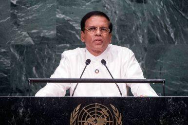 Sri Lankan President Maithripala Sirisena (UN Photo)