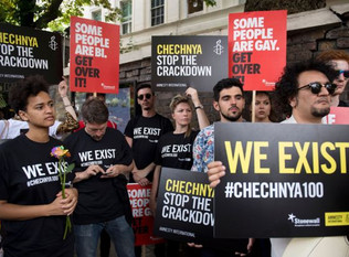 Gay Chechens flee threats, beatings and exorcism
