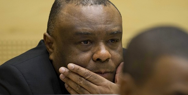 Jean-Pierre Bemba is alleged to have corruptly influenced testimony of witnesses in war crimes trial over alleged atrocities committed by his MLC militia. Photograph: Peter de Jong/EPA Copyright: The Guardian