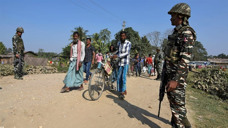 Thousands of Bengali-speaking Muslims have been thrown in detention camps in Assam in recent years [Reuters]