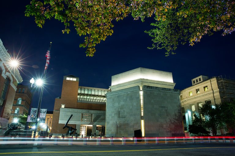 The United States Holocaust Memorial Museum in Washington, which is rereleasing a report about the Syrian civil war that drew a firestorm earlier this year. Credit Drew Angerer for The New York Times