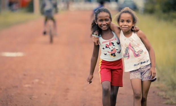 Village girls Photograph: Márcio Nagano/Agência Pará
