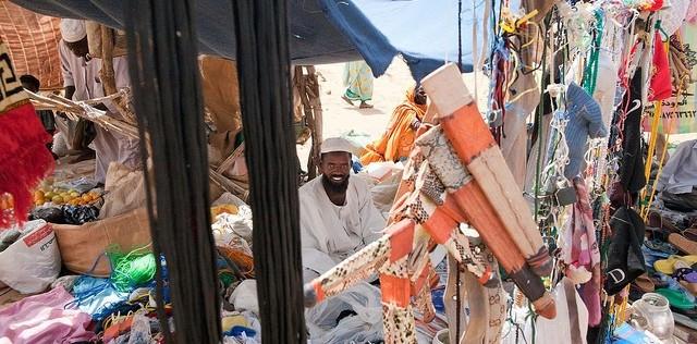 RSF plunder weekly market market in Kara, Jebel Marra