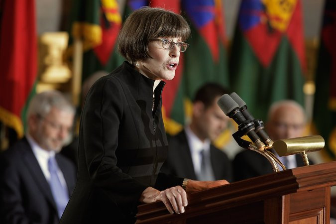 Sara J. Bloomfield, the United States Holocaust Memorial Museum director. Credit Chip Somodevilla/Getty Images