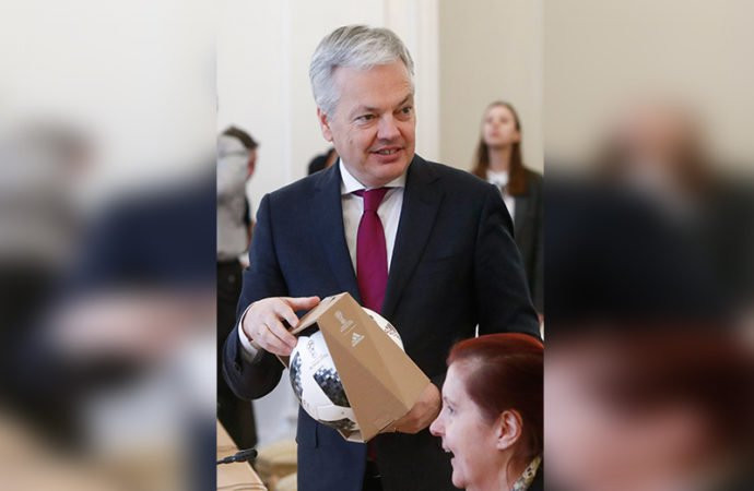 Belgian Deputy Prime Minister and Foreign Minister Didier Reynders Reuters