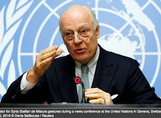 U.N. Says It Can't Enforce a Syrian Peace Deal