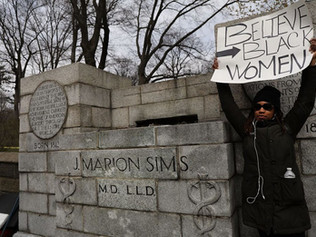 Statue of 'father of gynecology,' who experimented on enslaved women, removed from Central Park
