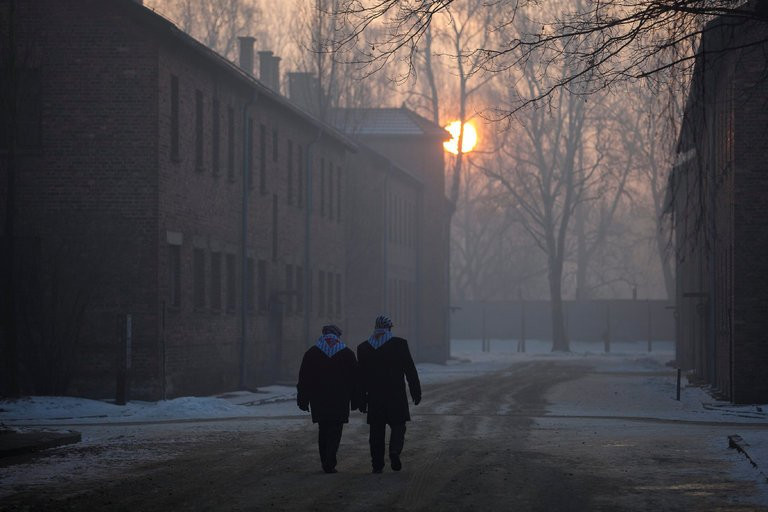 Survivors of Auschwitz returned to the camp in January 2017, on the 72nd anniversary of its liberation. In a recent survey, 41 percent of American adults did not know what Auschwitz was. Credit Agencja Gazeta/Reuters