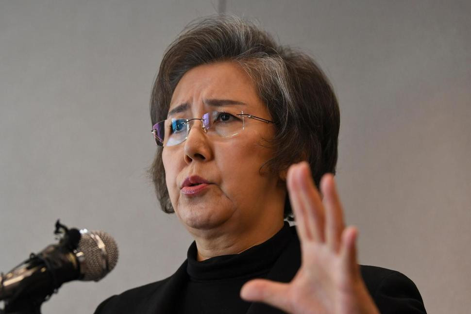 "Yanghee Lee, U.N. special envoy on human rights in Myanmar, speaks during a press conference in Seoul, South Korea, Thursday, Feb. 1, 2018. Lee said Thursday that the Myanmar military's violent operations against Rohingya Muslims bear ""the hallmarks of a genocide."" Lee said she couldn't make a definitive declaration about genocide until a credible international tribunal or court had weighed the evidence but ""we are seeing signs and it is building up to that."" (AP Photo/Bang Sung-hae) The Associated Press"