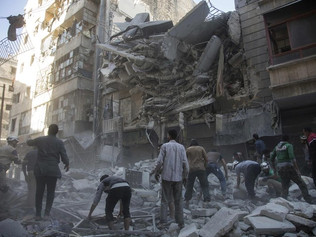 Russia's Brutal Bombing of Aleppo May Be Calculated, and It May Be Working